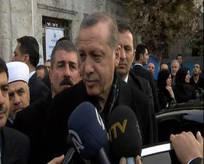 Cumhurbaşkanı Erdoğan Eyüp Sultan'da