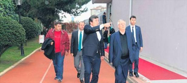 Başkan Yıldırım'dan TSYD'ye ziyaret