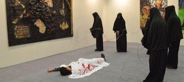 Sanat Fuarı'nda İslam'a hakaret!
