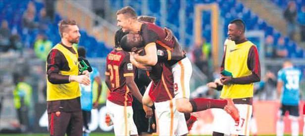 Derbilerin galipleri Dortmund & Roma
