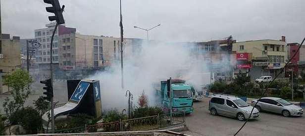 Şırnakta hain saldırı: 2 polis yaralandı