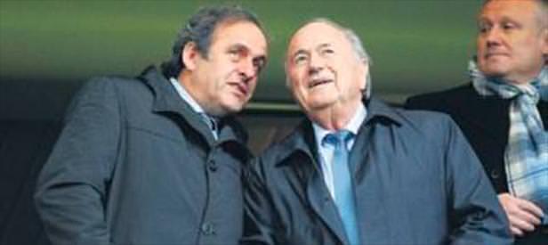 FIFA'dan Blatter& Platini'ye red