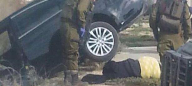 Filistinli genç kızı ezerek öldürdü!