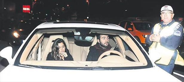 Aşk trafiğe takıldı