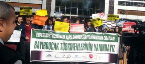 Türkmenlere destek Sol'un zoruna gitti