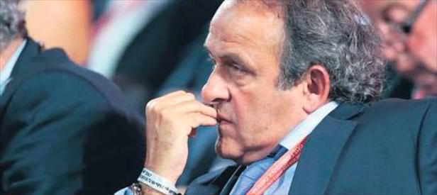 FIFA'dan Platini'ye ömür boyu men