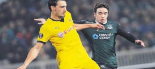 Dortmund Rusya'da dondu