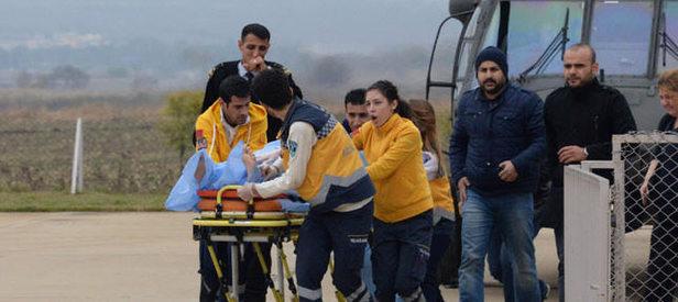 Zırhlı polis aracı devrildi: 3 yaralı