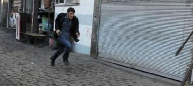 Teröristin silahı bu yüzden fırlatmış