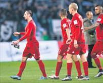 Namağlup Bayern dağıldı: 1-3