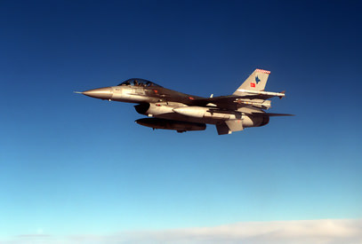 10 F-16 uçağı ile sınırda devriye uçuşu