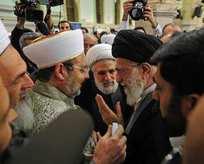 Görmez İran'ın dini lideri Hamaney ile görüştü