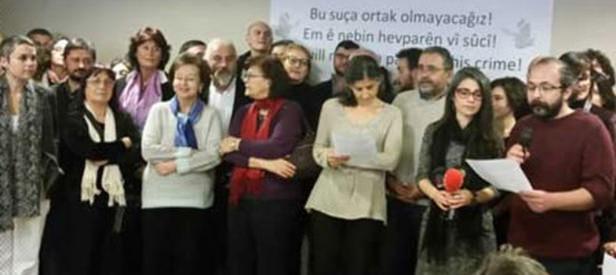 PKK'ya destek veren bildiriden desteğini çekti