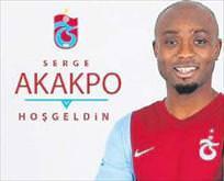 Serge Akakpo Trabzon'da