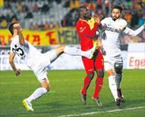 Denizli, Göztepe'yi tek golle yıktı