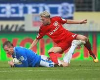 Leverkusenli Kampl'ın bacağı kırıldı