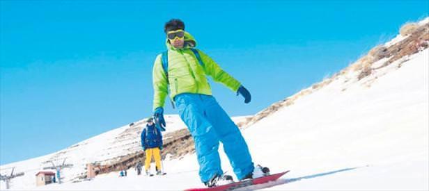 Bitlis'te kayak