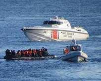 Sahil Güvenlik sığınmacılar için harekete geçti