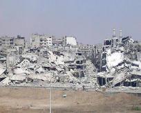 Suriye rejimi şehirleri patlayıcılarla yıkıyor