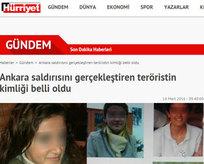 Hürriyet yine teröristleri korudu