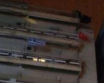 Yunanların Türk bayrağı hazımsızlığı