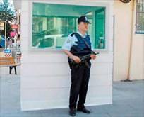 Polise zırhlı kulübe