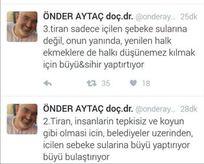 FETÖ'cü Aytaç'tan akıl dışı tweetler
