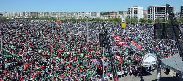 Diyarbakırdaki Kutlu Doğuma Yoğun Katılım Takvim 17 Nisan 2016