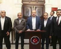 Yalçın Akdoğan toplantıdayken roket düştü