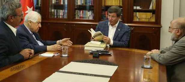 Başbakan Davutoğlu'nun özel misafirleri