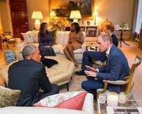 Obama'nın ziyaretinde büyük skandal!