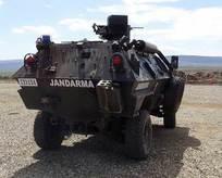 PKK'dan Jandarma karakoluna taciz ateşi