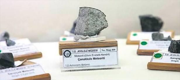 Meteorda yaşam izi