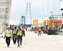 3. Köprü işçileri ikramiyeyi aldı