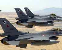 Türk jetleri Rusya üzerinde