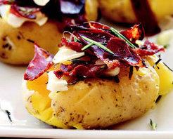 Pastırmalı Taze Patates Tarifi