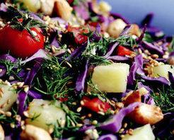 Kuruyemişli Patates Salatası Tarifi