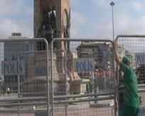 Taksim Meydanı'nda LGBT provokasyonu!