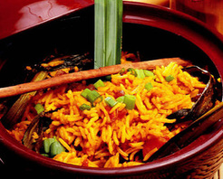 Nasi Kunning (Sarı Pilav) Tarifi