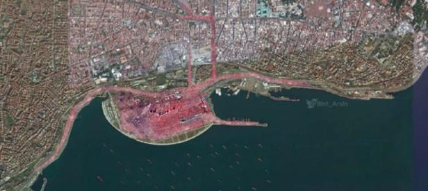 Yenikapı mitingi uzaydan  görüntülendi