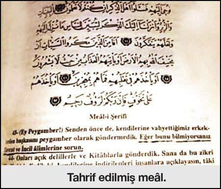 Image result for tahrif olmuÅ kuran