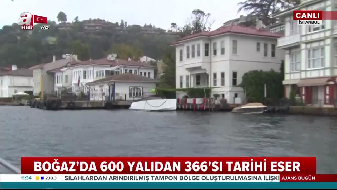 İstanbul Boğazının İncileri Yalılar