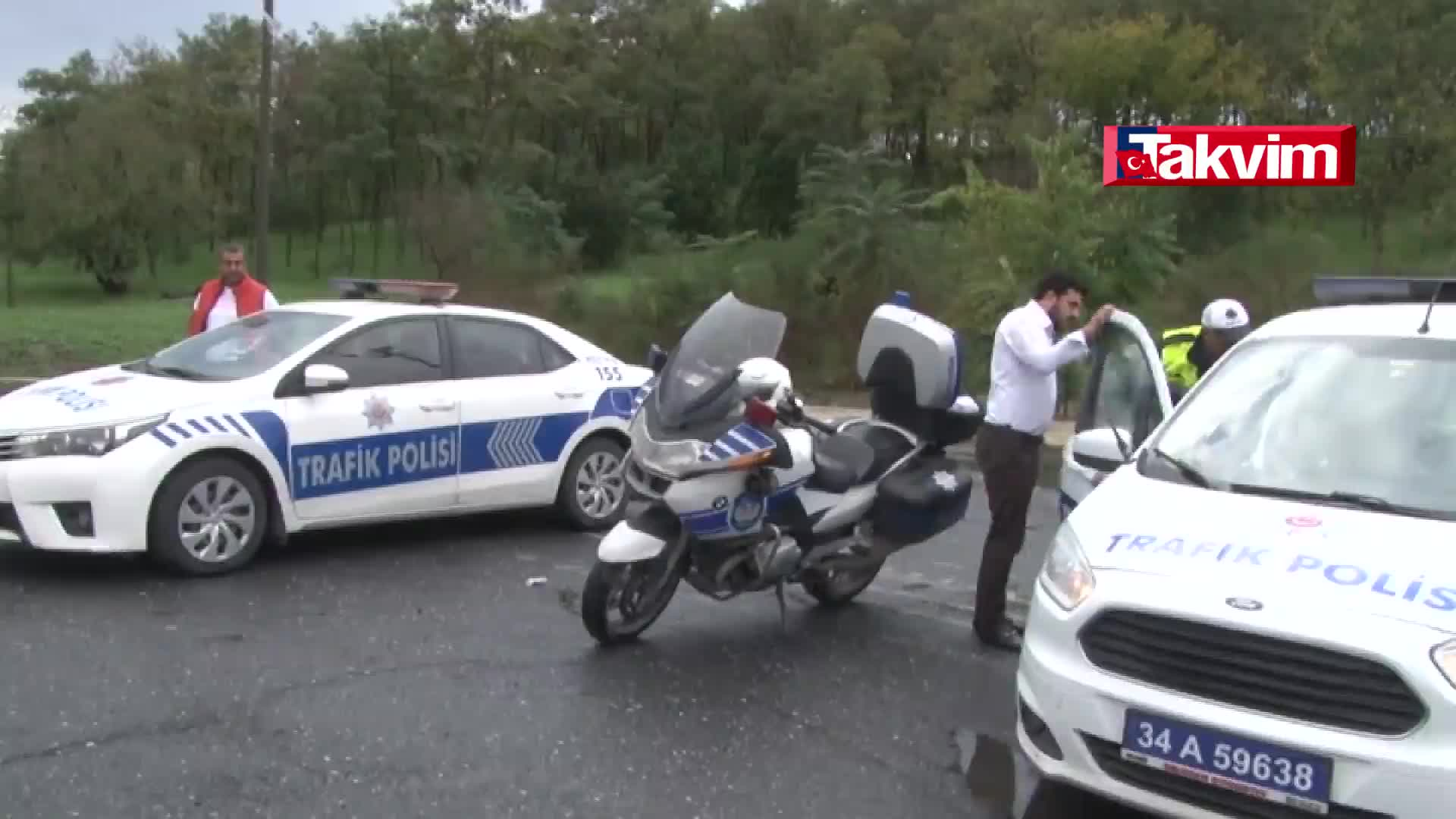 Istanbul Polisi Drone Ile Trafik Denetimine Devam Ediyor Haber