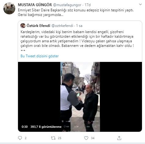 باغجلار يرتدي قناعًا للمواطن المسن bir-utanc-videosu-da