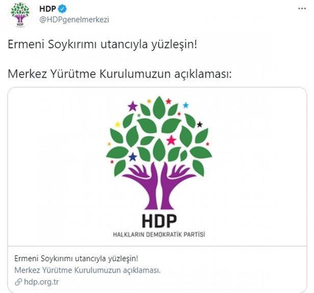 CHP ve İYİ Parti ortakları HDP'nin sözde 'soykırım' açıklaması karşısında  suskunluğa gömüldü! - Takvim