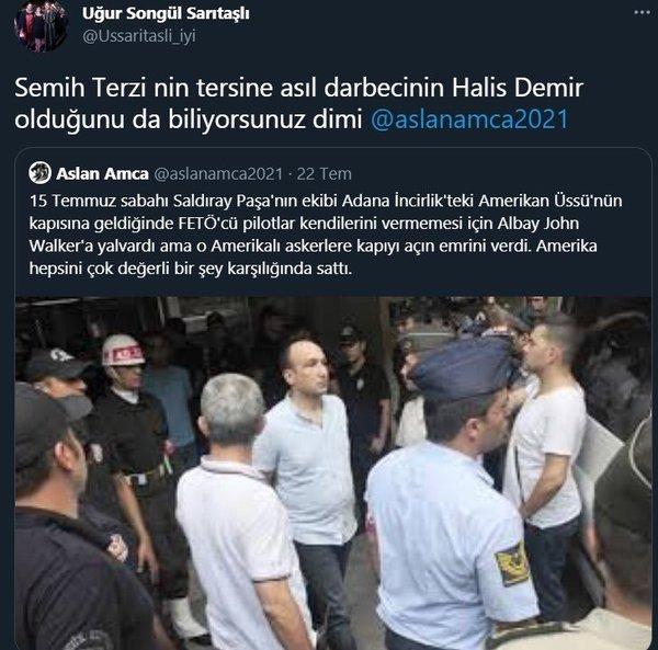 İYİ Parti yöneticisi Uğur Songül Sarıtaşlı Semih Terzi'yi alnından vuran şehit Ömer Halisdemir'e darbeci dedi - Takvim