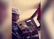 Neymar'ın piyano başında yaptığı şov olay oldu!