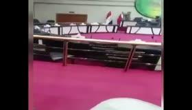 Barzaninin bayrağı meclisten böyle indirildi