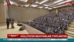 """Beştepedeki 40. Muhtarlar Buluşması """"Altın Hızma"""" isimli Kerkük türküsü ile başladı"""