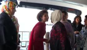 Emine Rrdoğan, D-8 zirvesine gelen liderlerin eşlerini konuk etti